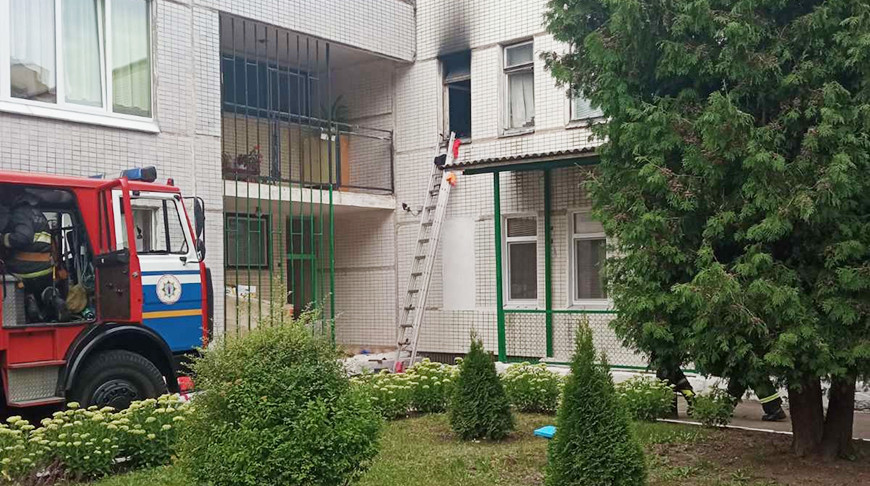 Фото Минского городскогоуправления МЧС