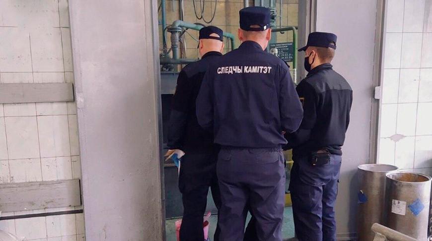 В Могилеве на территории комбината силикатных изделий произошел взрыв
