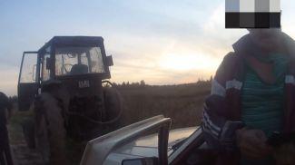 Скриншот из видео ГАИ УВД Витебского облисполкома