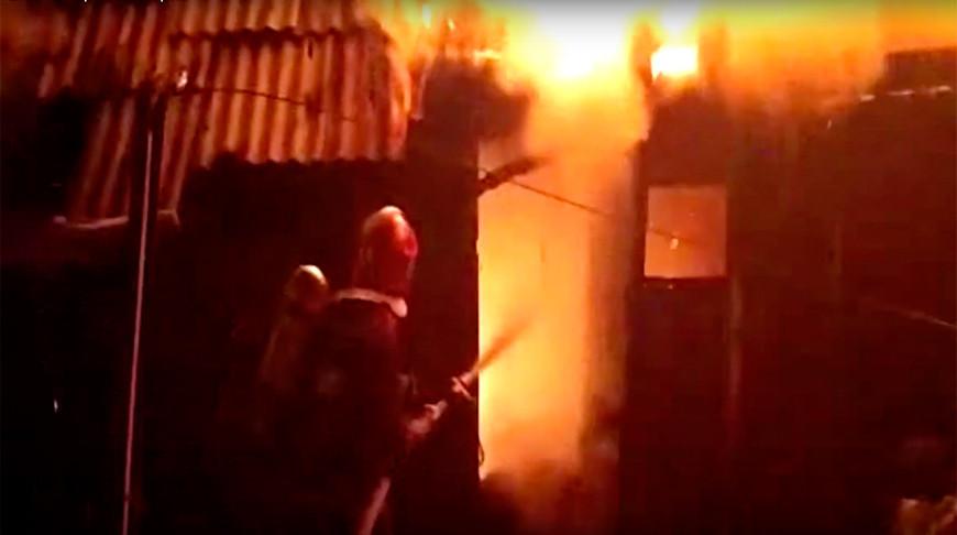 Скриншот из видео МЧС