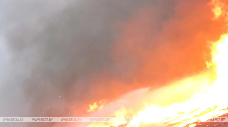 В Несвижском районе при пожаре в жилом доме погиб мужчина