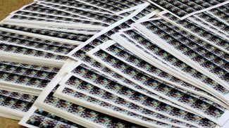 Марки, не поступившие в продажу. Фото Следственного комитета