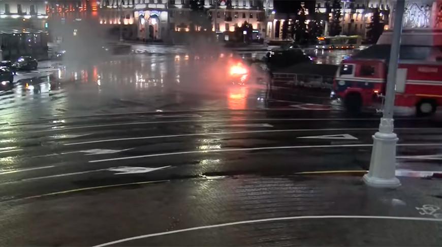 Скриншот из видео ГУ ГАИ