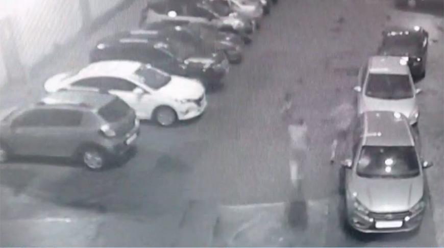 Скриншот из видео ГУВД Мингорисполкома