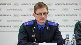 Дмитрий Петко во время пресс-конференции