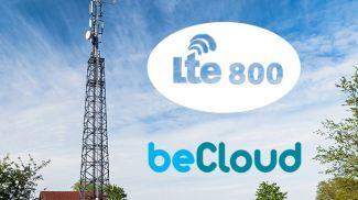 beCloud приступает к строительству сети LTE-800 в новом регионе