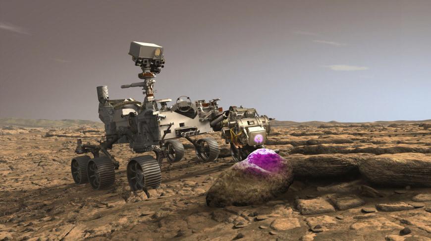 Марсоход Perseverance преодолел половину пути до Марса