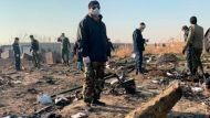 На борту разбившегося украинского самолета было 167 пассажиров и 9 членов экипажа
