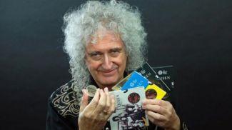 Брайан Мэй - гитарист группы Queen. Фото Reuters