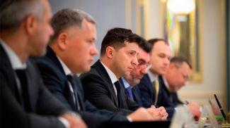 Во время встречи. Фото сайта главы Украины