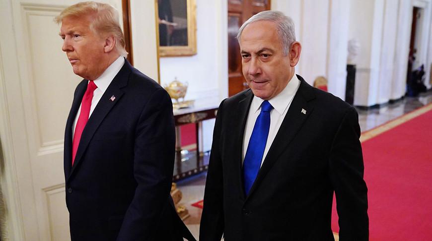 Дональд Трамп и Биньямин Нетаньяху. Фото  Getty Images