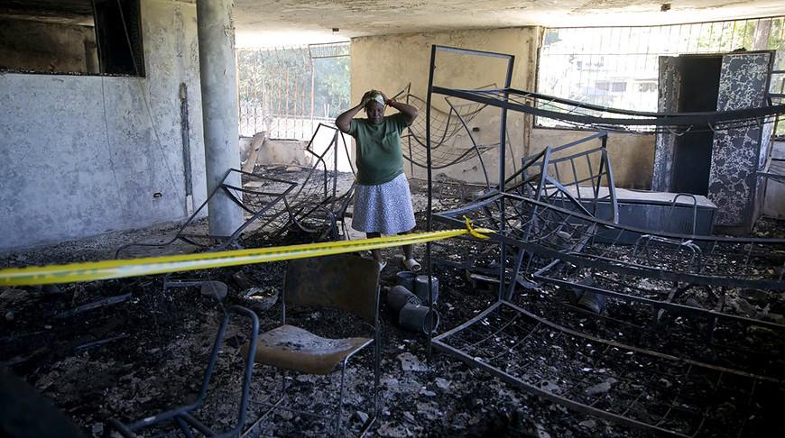 Жертвами пожара на Гаити стали 15 воспитанников детского дома