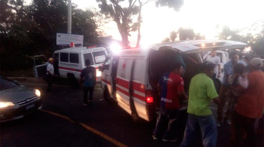 Фото из Twitter-аккаунта Noticias El Salvador