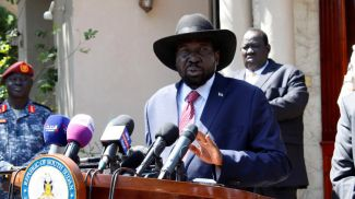 Президент Южного Судана Салва Киир. Фото   Reuters