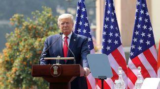 Президент США Дональд Трамп. Фото EPA-EFE