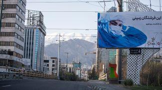 На улицах Тегерана. Фото Синьхуа - БЕЛТА