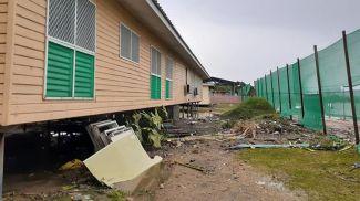 Последствия циклона Гарольда. Фото BBC