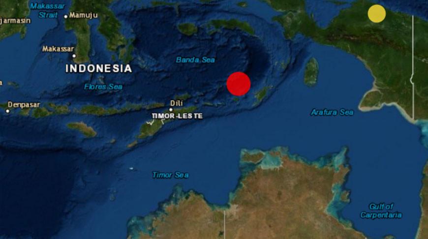Скриншот с сайта Европейско-средиземноморского сейсмологического центра