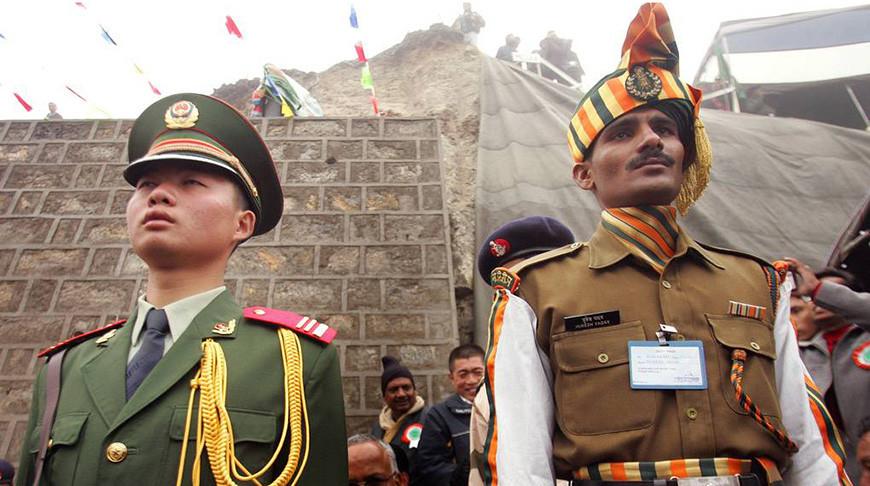 Драка на границе Индии и Китая: подрались пограничники
