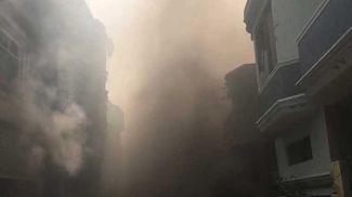 На месте происшествия. Фото geo.tv