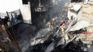 Найден черный ящик разбившегося в Пакистане самолета