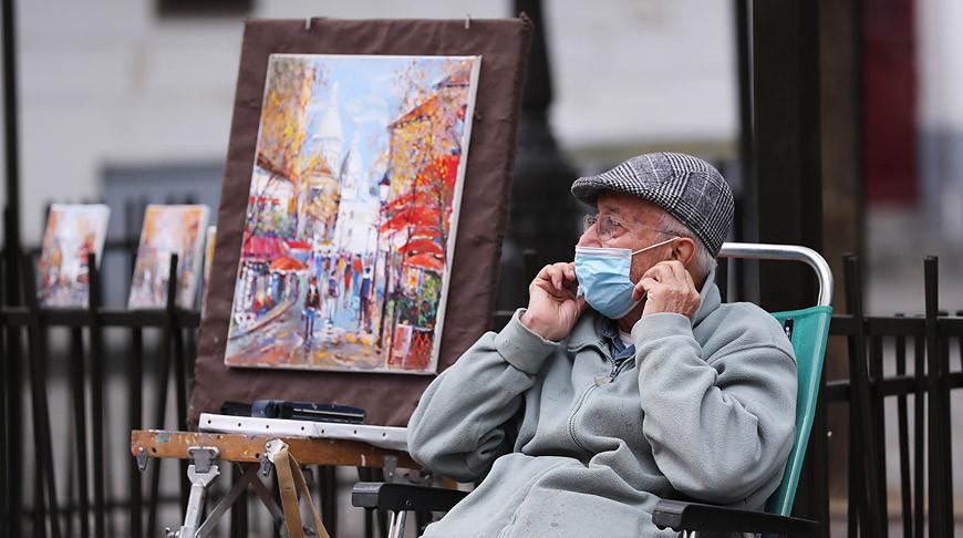 В Париже. Фото Синьхуа - БЕЛТА