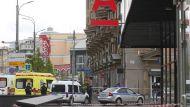 Захватчик отделения банка в Москве угрожает взорвать здание
