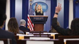 Пресс-секретарь Белого дома Кейли Макинэни. Фото  EPA -EFE