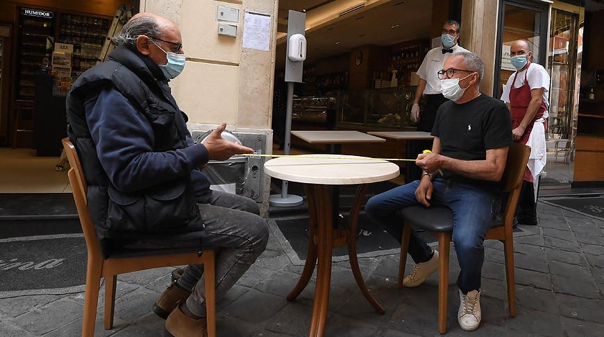 На улицах Рима. Фото Синьхуа - БЕЛТА