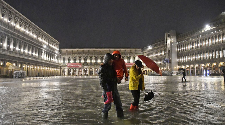 Почти 25 процентов Венеции затопило. Причиной стал аномальный прилив в июне
