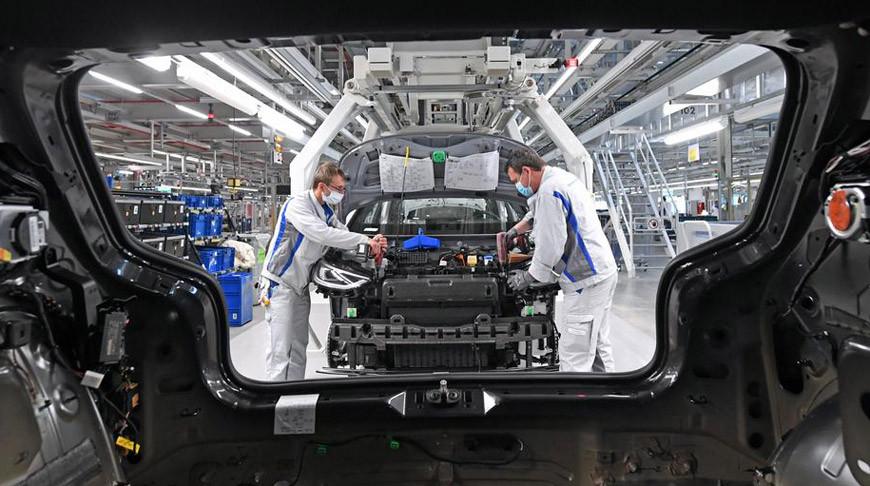 Максимальный спад производства за послевоенный период зафиксирован в Германии
