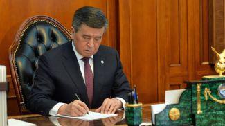 Сооронбай Жээнбеков. Фото Кабар