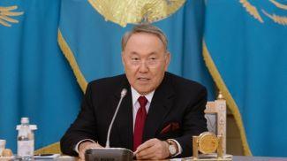 Нурсултан Назарбаев. Фото Tengrinews