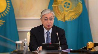 """Касым-Жомарт Токаев. Фото """"Казинформ"""""""