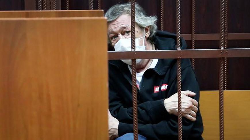 Михаил Ефремов. Фото Пресс-службы Таганского суда