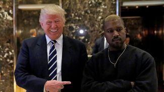 Дональд Трамп и Канье Уэст. Фото   Reuters