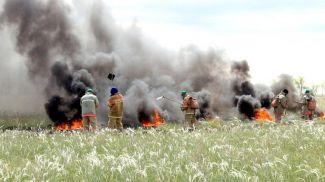 Фото Комитета по чрезвычайным ситуациям Министерства внутренних дел Казахстана