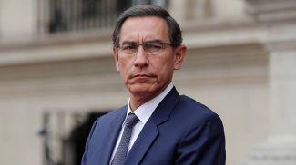 Президент Перу Мартин Вискарра. Фото Reuters