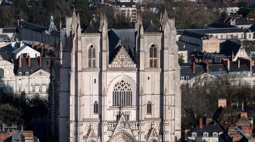 Собор в Нанте. Фото   Agence France-Presse