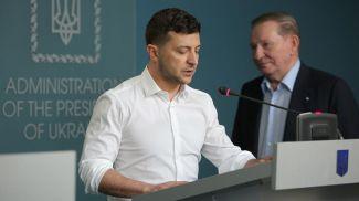 Владимир Зеленский и Леонид Кучма. Фото Picture Alliance