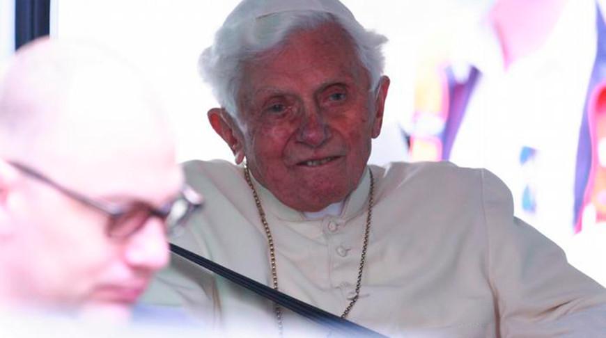 Бенедикт XVI. Фото Picture-alliance