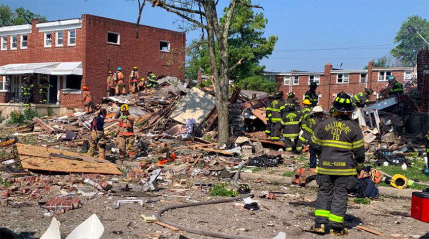Фото Twitter / Baltimore City Fire Department @BaltimoreFire