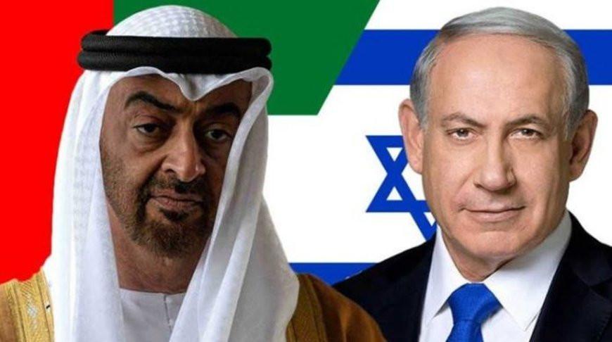 Мохаммед бен Заид и Биньямин Нетаньяху. Изображение  ghanatalksradio.com