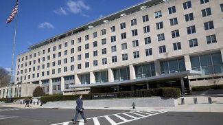 Здание Госдепартамента в Вашингтоне. Фото AP
