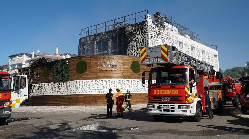 В Испании во время пожара в отеле погиб человек, 9 ранены