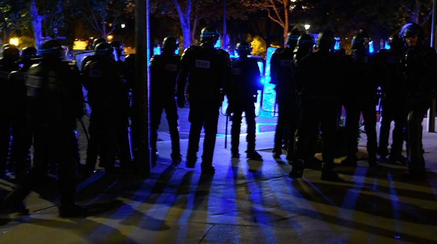 Фото из Twitter-аккаунта Préfecture de Police