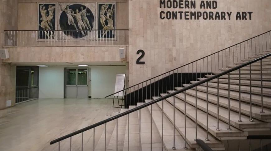 Подтопило залы Третьяковской галереи