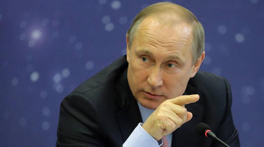 Владимир Путин. Фото из архива ТАСС