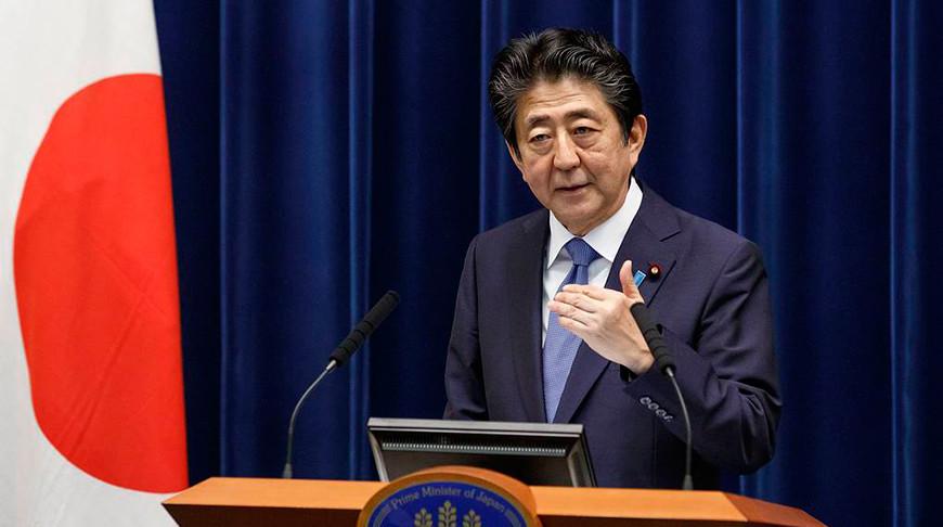 Синдзо Абэ. Фото   EPA  -  EFE