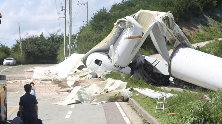 Тайфун 'Майсак' обрушился на Республику Корея, есть погибшие